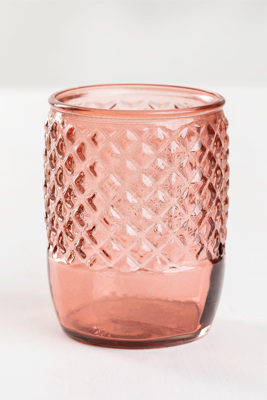 Copo de vidro reciclado anett, imagem de galeria 1