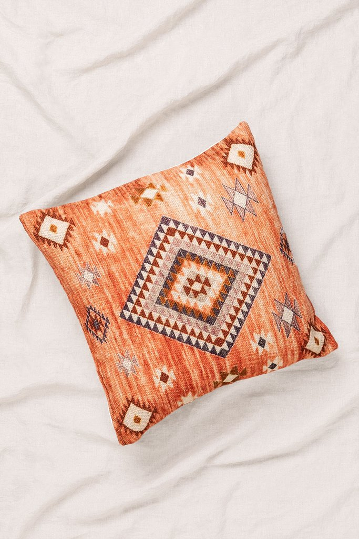 Almofada quadrada de algodão (45x45 cm) Kinari, imagem de galeria 1