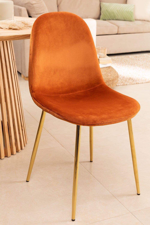 Cadeira de Veludo Glamm, imagem de galeria 1