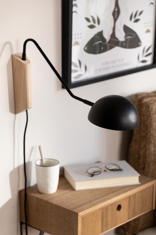 Lâmpada de parede ercsi para quarto, imagem de galeria 1