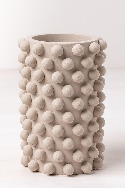 Vaso de cimento rosa, imagem de galeria 1