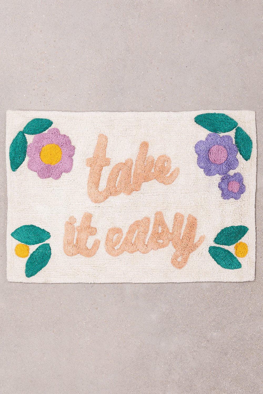 Tapete de banho de algodão (55x82 cm) Limay, imagem de galeria 1