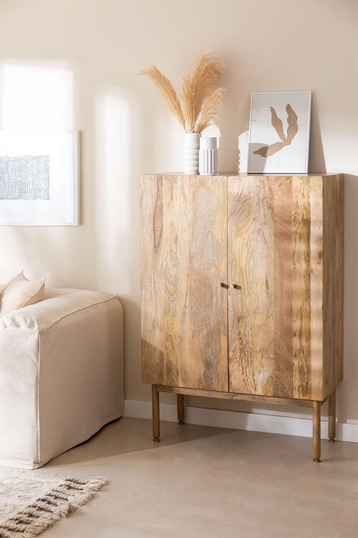 Guarda-roupa de madeira absy, imagem de galeria 1