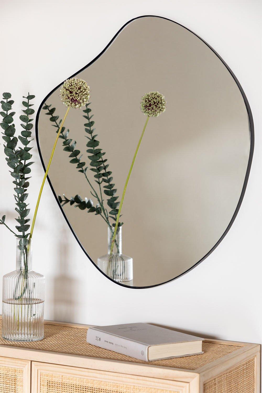 Espelho de parede de metal (67x60 cm) Astrid, imagem de galeria 1