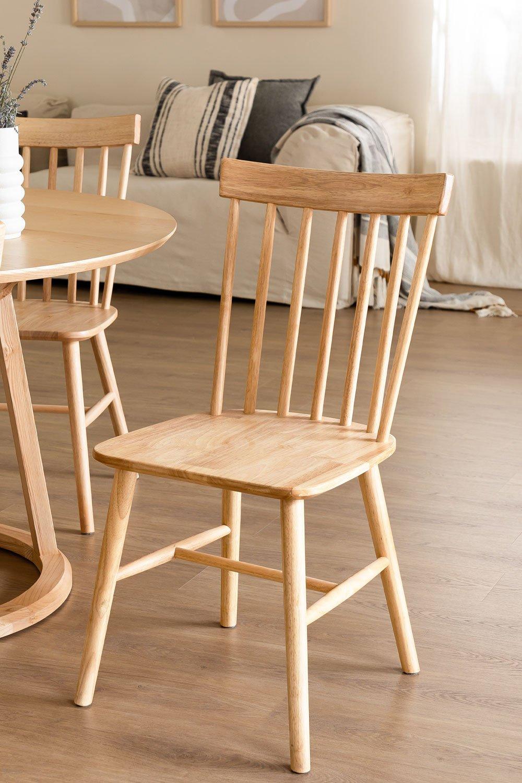Cadeira de jantar natural Shor, imagem de galeria 1