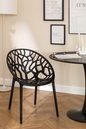 Cadeira de jantar empilhável de minério