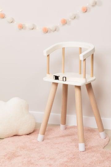 Cadeira alta de madeira Dil Kids