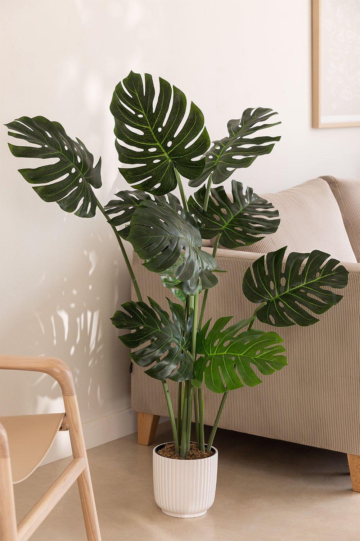 Monstera Decorative Artificial Plant, imagem de galeria 1