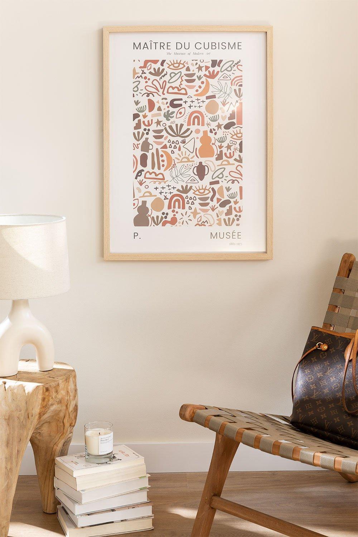 Estampa decorativa (50x70 cm) Musa, imagem de galeria 1