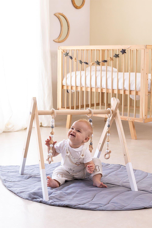 Ginásio de madeira Ziggim Kids, imagem de galeria 1