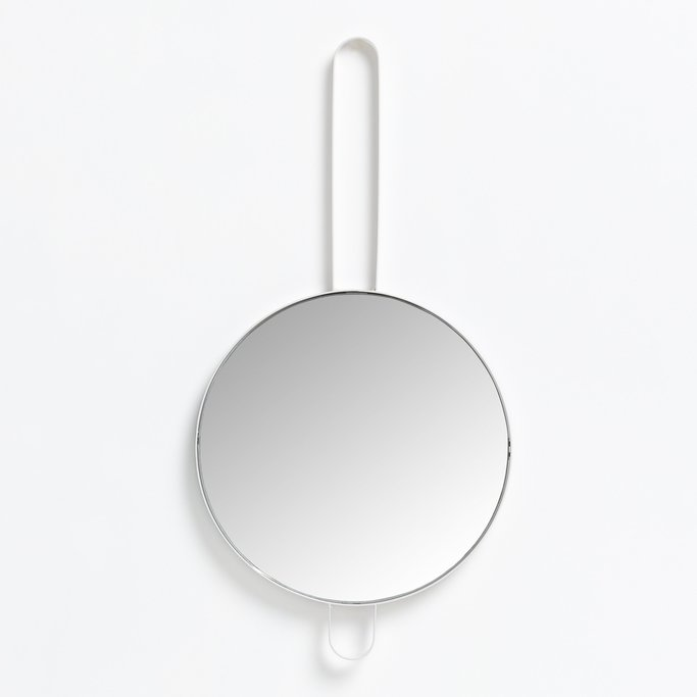 Espelho de parede redondo de metal (Ø30 cm) Ryna, imagem de galeria 1