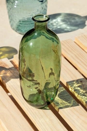 Garrafa de vidro reciclado lumas