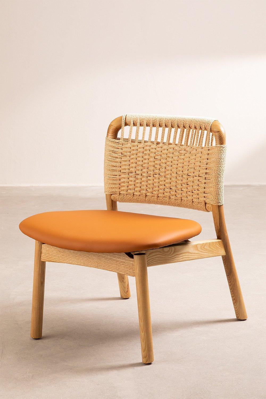 Cadeira de madeira roma, imagem de galeria 1