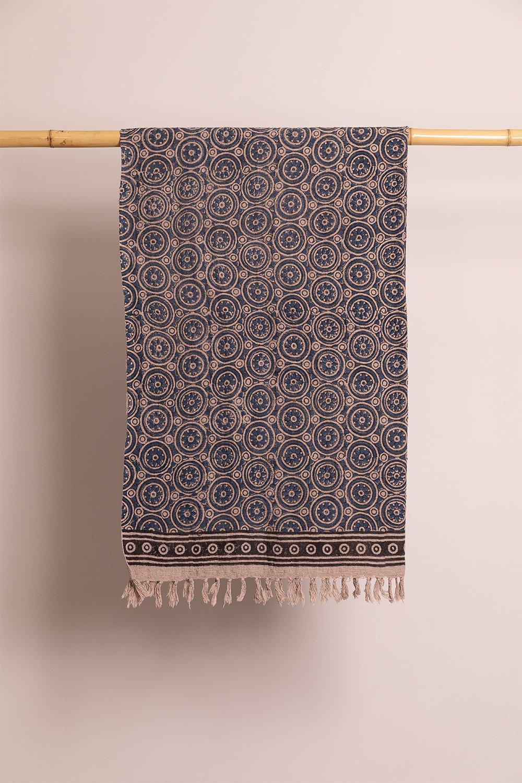 Manta Xadrez em Algodão Jopi, imagem de galeria 1