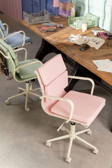 Cadeira de escritório sobre rodas Fhöt Colors