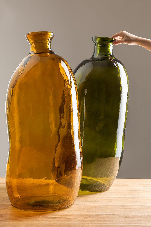 Vaso de vidro reciclado Boyte , imagem de galeria 1