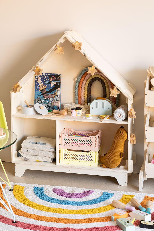 Prateleira infantil com compartimentos Kasi Kids, imagem de galeria 1