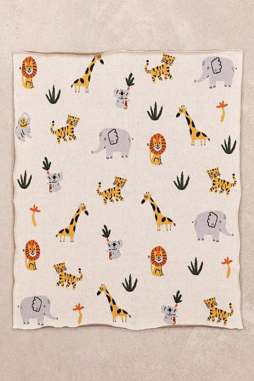 Dyano manta de algodão infantil, imagem de galeria 1