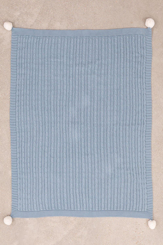 Trançado algodão Swaddle Benys Kids, imagem de galeria 1
