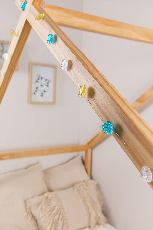 Guirlanda decorativa led lito , imagem de galeria 1