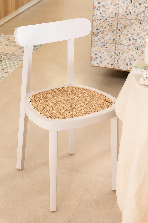 Alena Wood Dining Chair, imagem de galeria 1