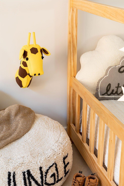 Crianças de girafas com cabeça de animal, imagem de galeria 1