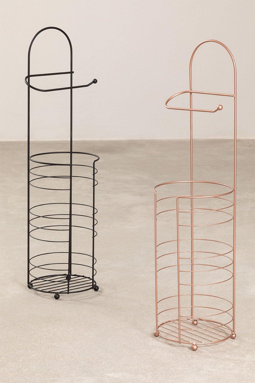 Suporte de rolo Olix com armazenamento, imagem de galeria 1
