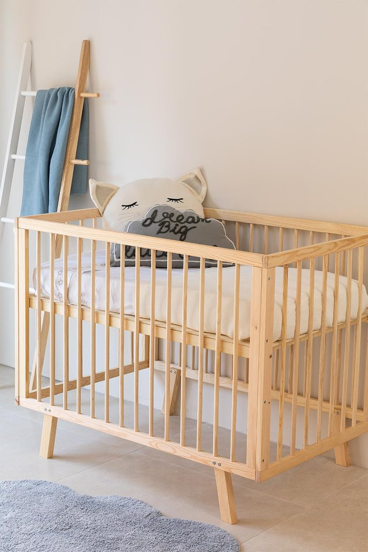 Tianna Kids Wood Crib, imagem de galeria 1