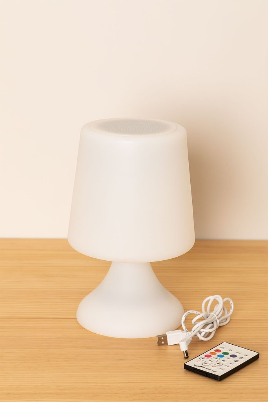 Lâmpada led com alto-falante bluetooth para exterior Ilyum, imagem de galeria 1