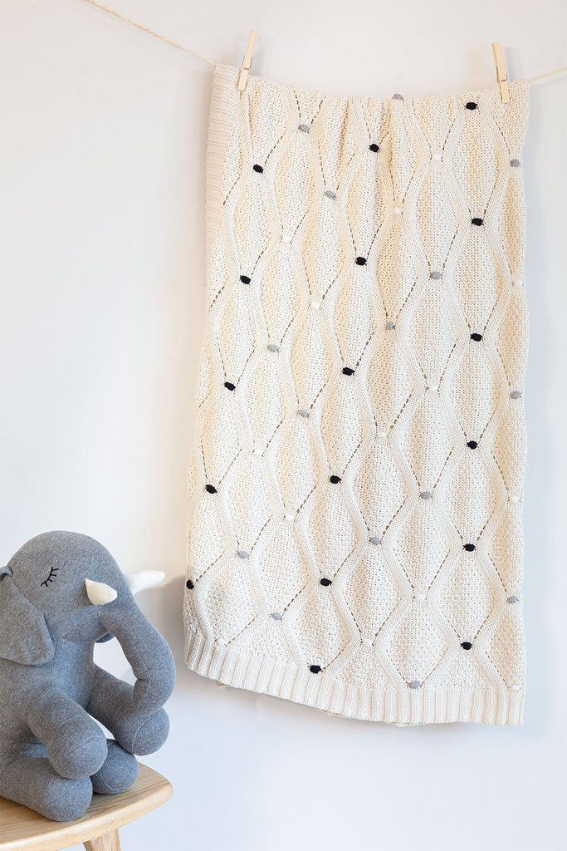 Manta modelo kids de malha de algodão, imagem de galeria 1
