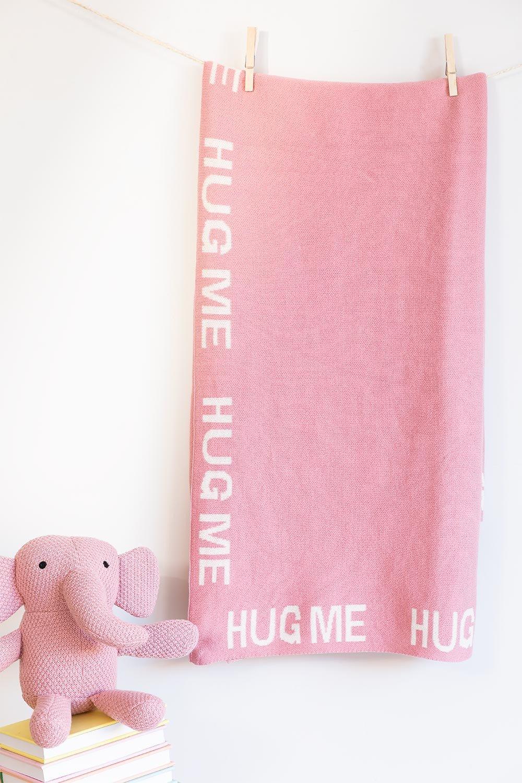 Manta de algodão Rose infantil, imagem de galeria 1
