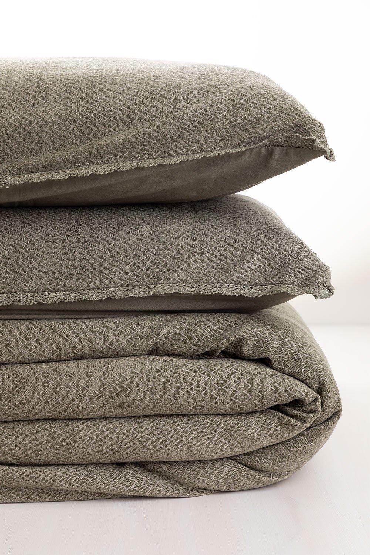 Capa de edredon de algodão Alaska, imagem de galeria 1