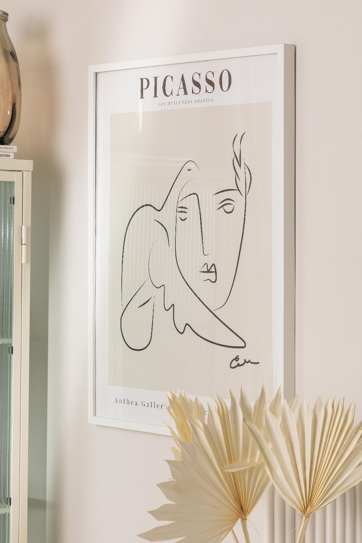 Estampa decorativa (50x70 cm) Mulher, imagem de galeria 1