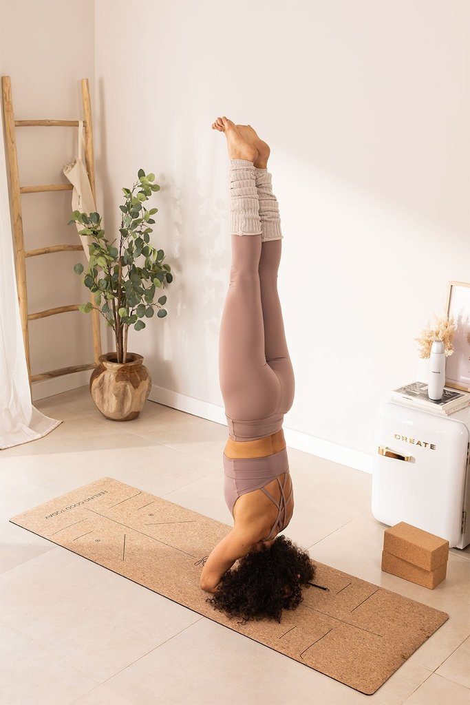 Tapete de Yoga com Pontos de Posição Namaste, imagem de galeria 1