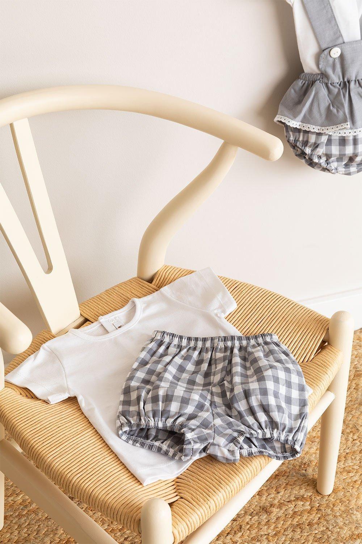 Conjunto de camiseta Pololo e Snorki, imagem de galeria 1