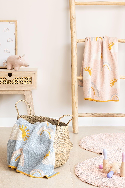 Cobertor infantil de algodão ellie, imagem de galeria 1