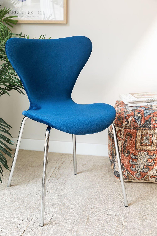 Cadeira de jantar Uit Velvet, imagem de galeria 1