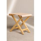 Set of Hammock and Folding Stool in Wood Dalma Colors, thumbnail image 5