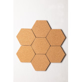 Pack of 7 Wall Corks Geom , thumbnail image 3