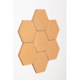 Pack of 7 Wall Corks Geom , thumbnail image 4