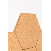 Pack of 7 Wall Corks Geom , thumbnail image 5