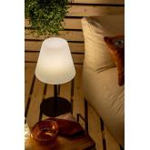 Llahra Outdoor Solar Table Lamp , thumbnail image 1
