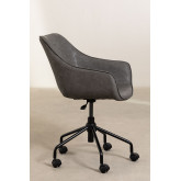 Leatherette Desk Chair Lucy , thumbnail image 5