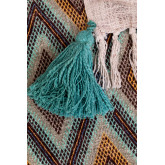 Axi Plaid Blanket in Cotton, thumbnail image 3