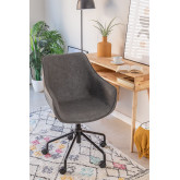 Leatherette Desk Chair Lucy , thumbnail image 2