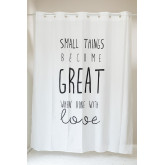 Shower Curtain with Magic System in Greati Fabric, thumbnail image 1