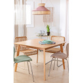 Square Dining Table in MDF (100x100 cm) Kerhen, thumbnail image 1