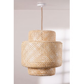 Ceiling Lamp in Bamboo (Ø45 cm) Lexie Natural, thumbnail image 1