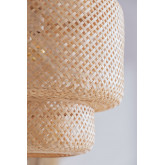 Ceiling Lamp in Bamboo (Ø45 cm) Lexie Natural, thumbnail image 3