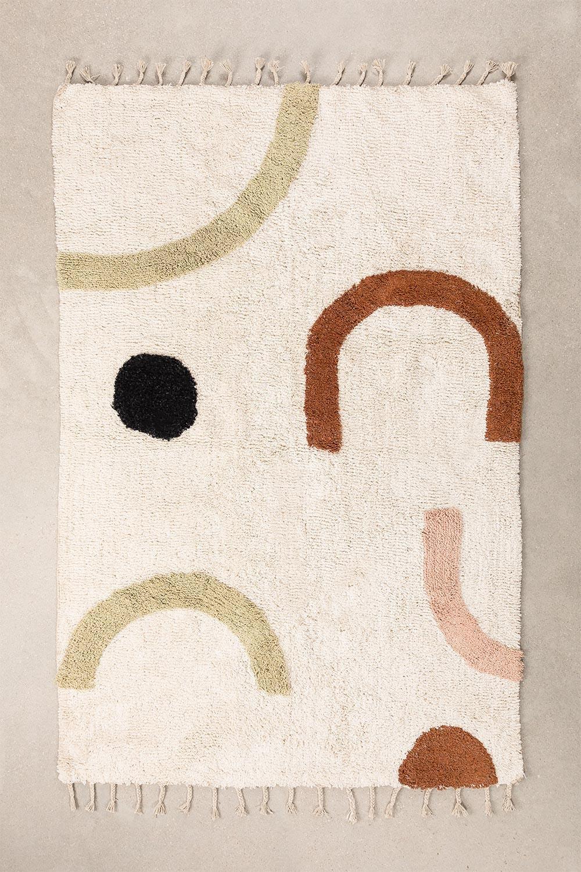 Cotton Rug (205x130 cm) Ebre, gallery image 1